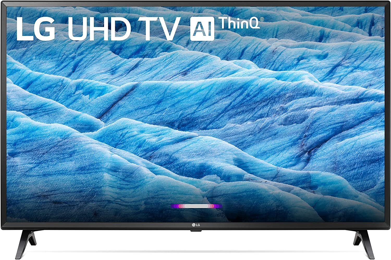 """LG 49UM7300PUA Alexa Built-in 49"""" 4K Ultra HD Smart LED TV (2019) (Renewed)"""