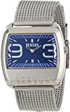 Versus by Versace Men's 3C61100000 Angle Stainless Steel Rectangular Blue Dial Watch