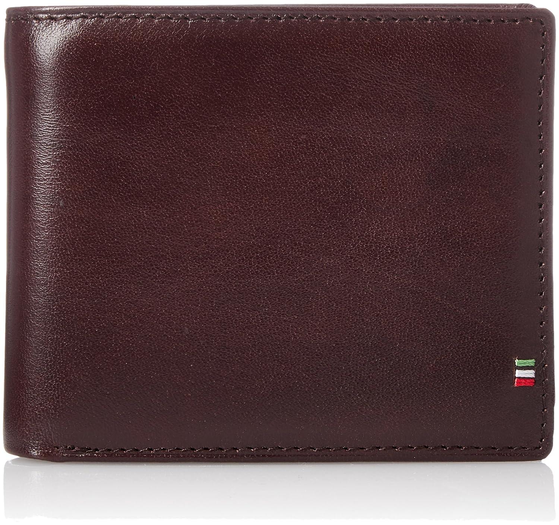 [ゴルベ] 二つ折り財布 イタリアンレザー ボックスコインケース 1000-32 B0793GS771  チョコ/ピンク