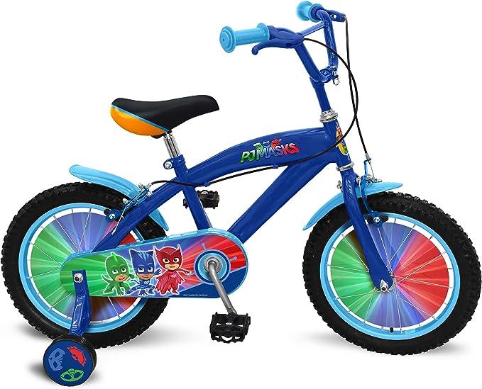 Stamp Bicicleta 16 Pulgadas – PJ Masks – pyjamasques, p280027se: Amazon.es: Juguetes y juegos