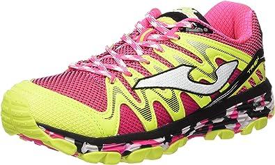 Joma TK.Trek Lady 610 Fucsia - Zapatillas de Correr en montaña para Mujer, Color Fucsia, Talla 41: Amazon.es: Zapatos y complementos