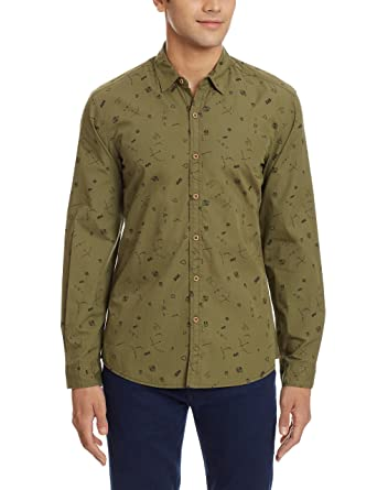 Wrangler Men's Casual Shirt Casual Shirts at amazon