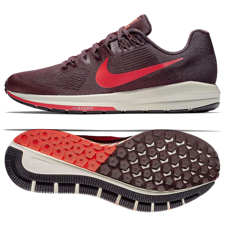 MultiFarbe (Burgundy Ash Bright Crimson 600) Nike Air Zoom Structure 21, Hausschuhe de Running para Hombre