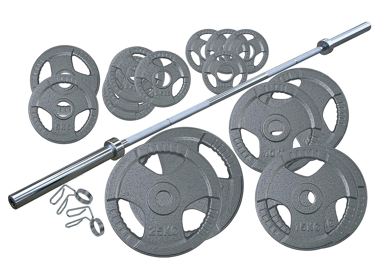 Profi Olympia Hantelset Body-Track® DB320, 145 kg - 50 mm bei amazon kaufen