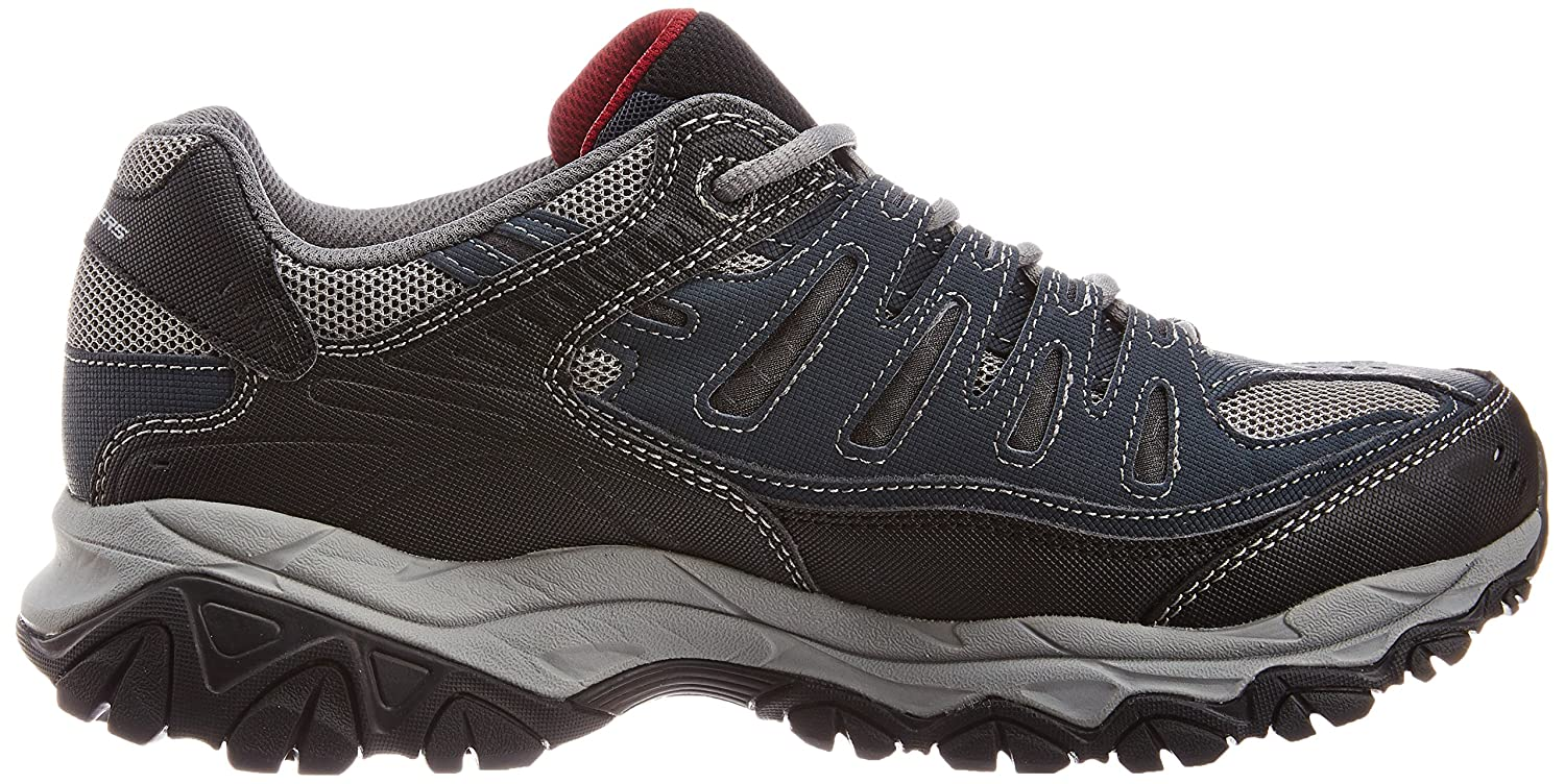Skechers-Afterburn-Memory-Foam-M-Fit-Men-039-s-Sport-After-Burn-Sneakers-Shoes thumbnail 62