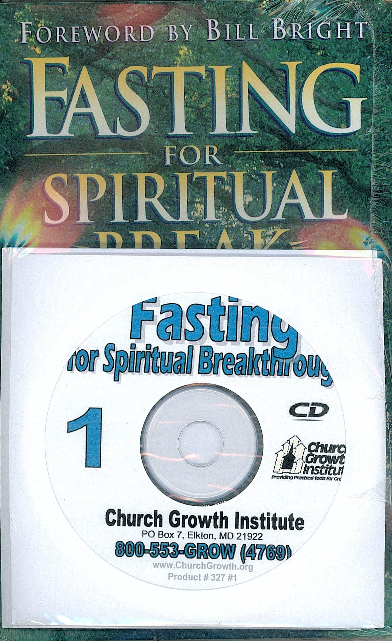 Fasting For Spiritual Breakthrough & Audio Seminars on CDs