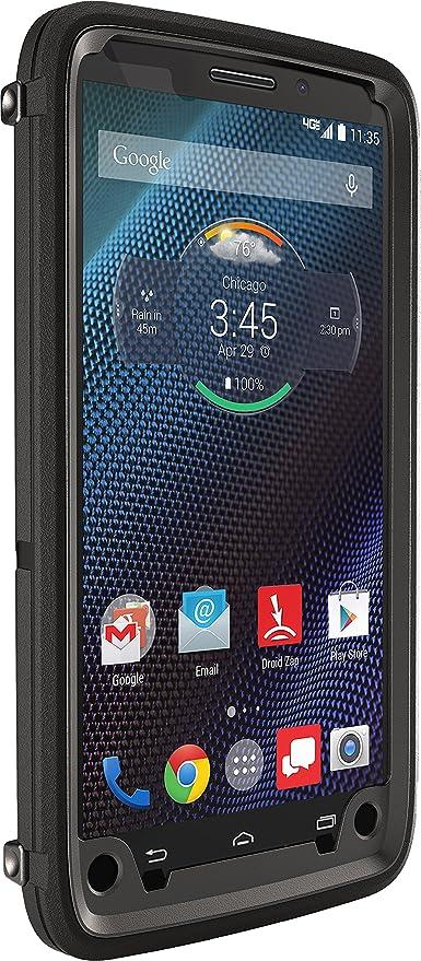 OtterBox Defender Negro - Fundas para teléfonos Móviles (Motorola, Droid Turbo, Negro)