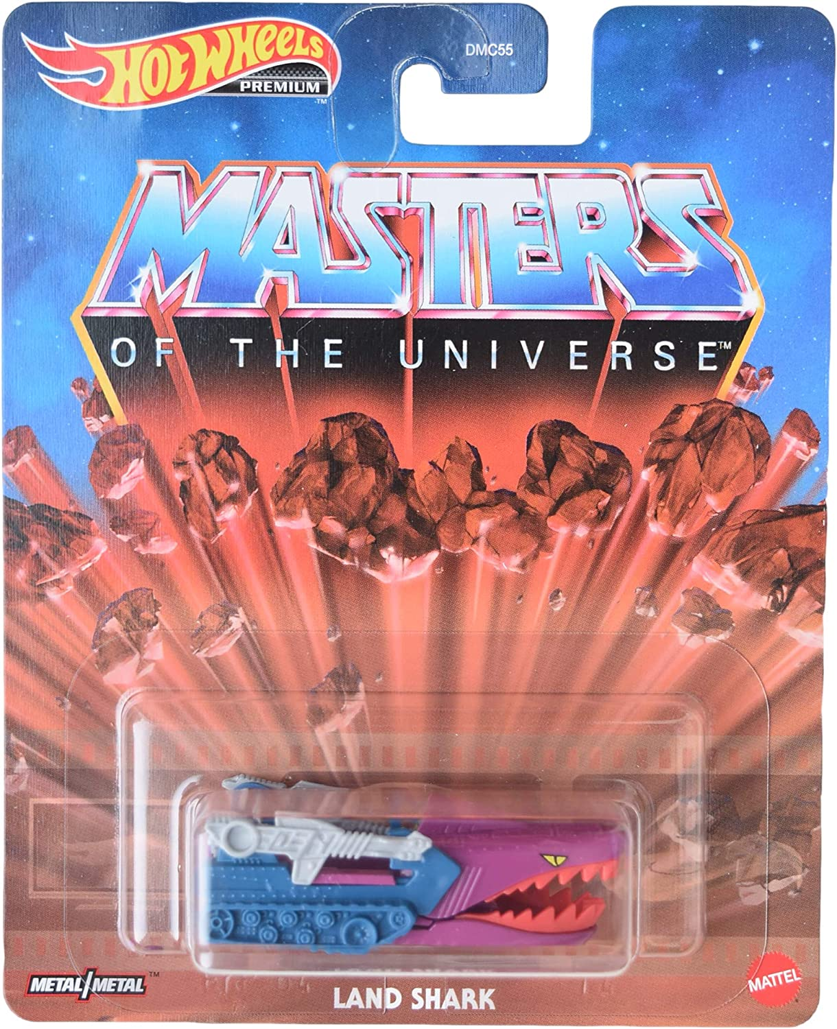 DieCast Hotwheels Masters of The Universe Land Shark