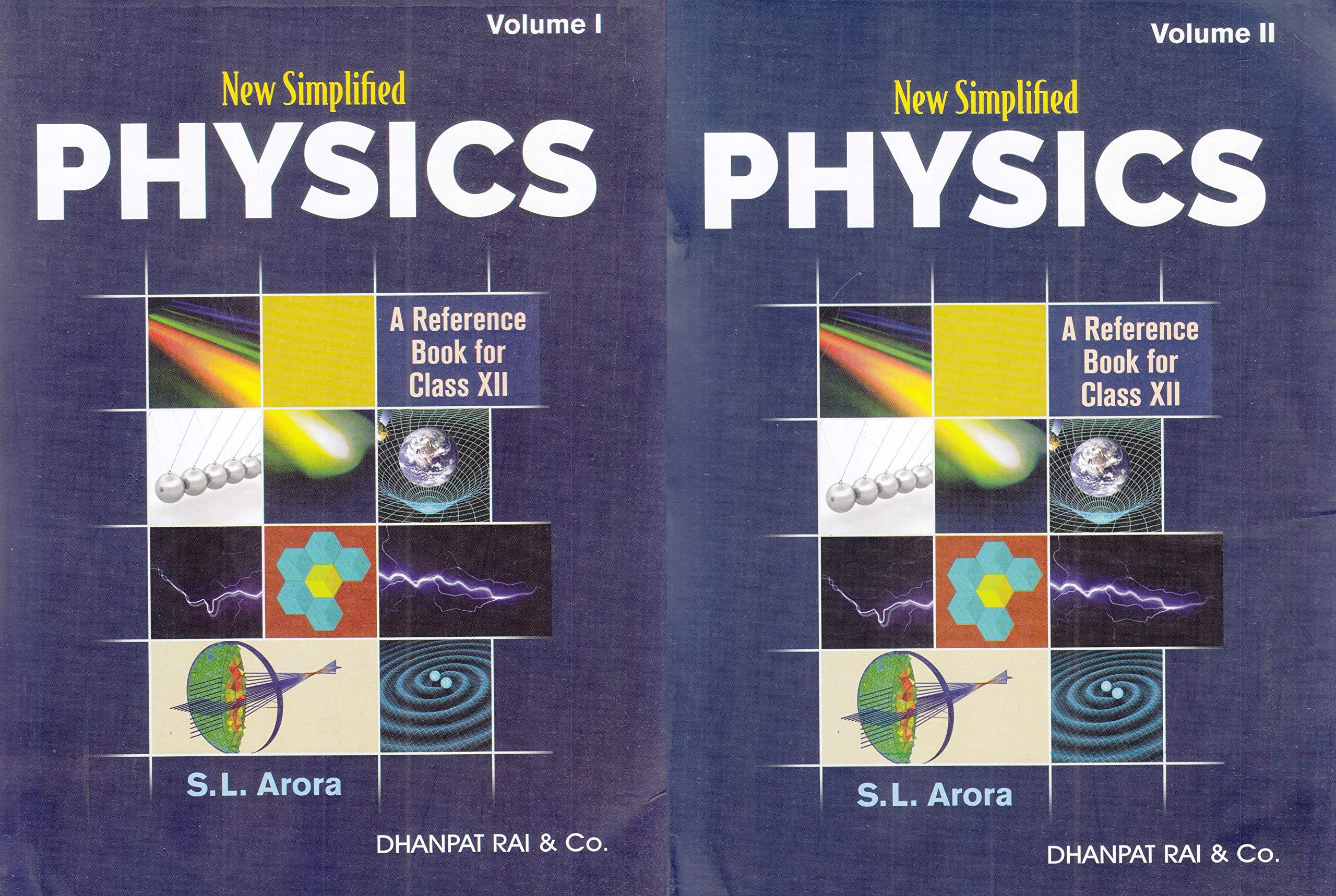 Sl Arora Physics Class 12 Book