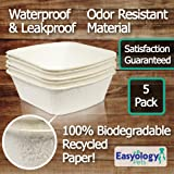 Easyology Large Disposable Litter Box - 5 Pack