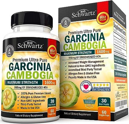 Max Schlankheitskapsel Garcinia Cambogia Bewertung
