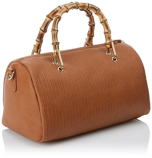 Cortefiel 2.T.B.Bowling, Bolso de Mano para Mujer, Beige (Beigekamel), 17.5x16.5x30  cm (W x H x L): Amazon.es: Zapatos y complementos