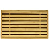 """Natural Living 3020215BA Bamboo Bread Cutting Board with Crumb Catcher, 15 by 9"""", Natural Wood"""