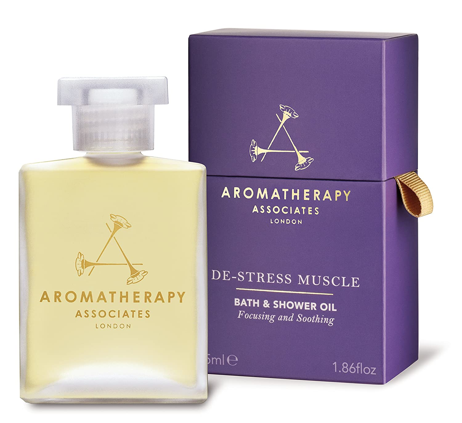 Aromatherapy Associates De-Stress Muscle Bath And Shower Oil RN511055R
