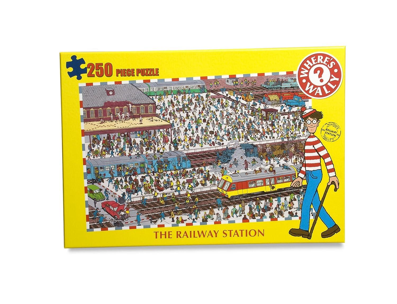 The Railway Station Wheres Wally 250 Piece Jigsaw Puzzle 7010 Paul Lamond Games