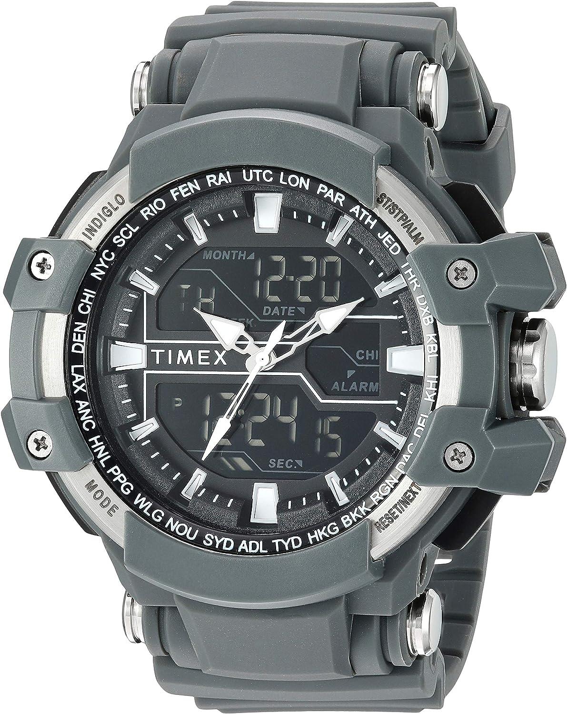 Timex Reloj Hombre de Digital con Correa en Resina TW5M22600