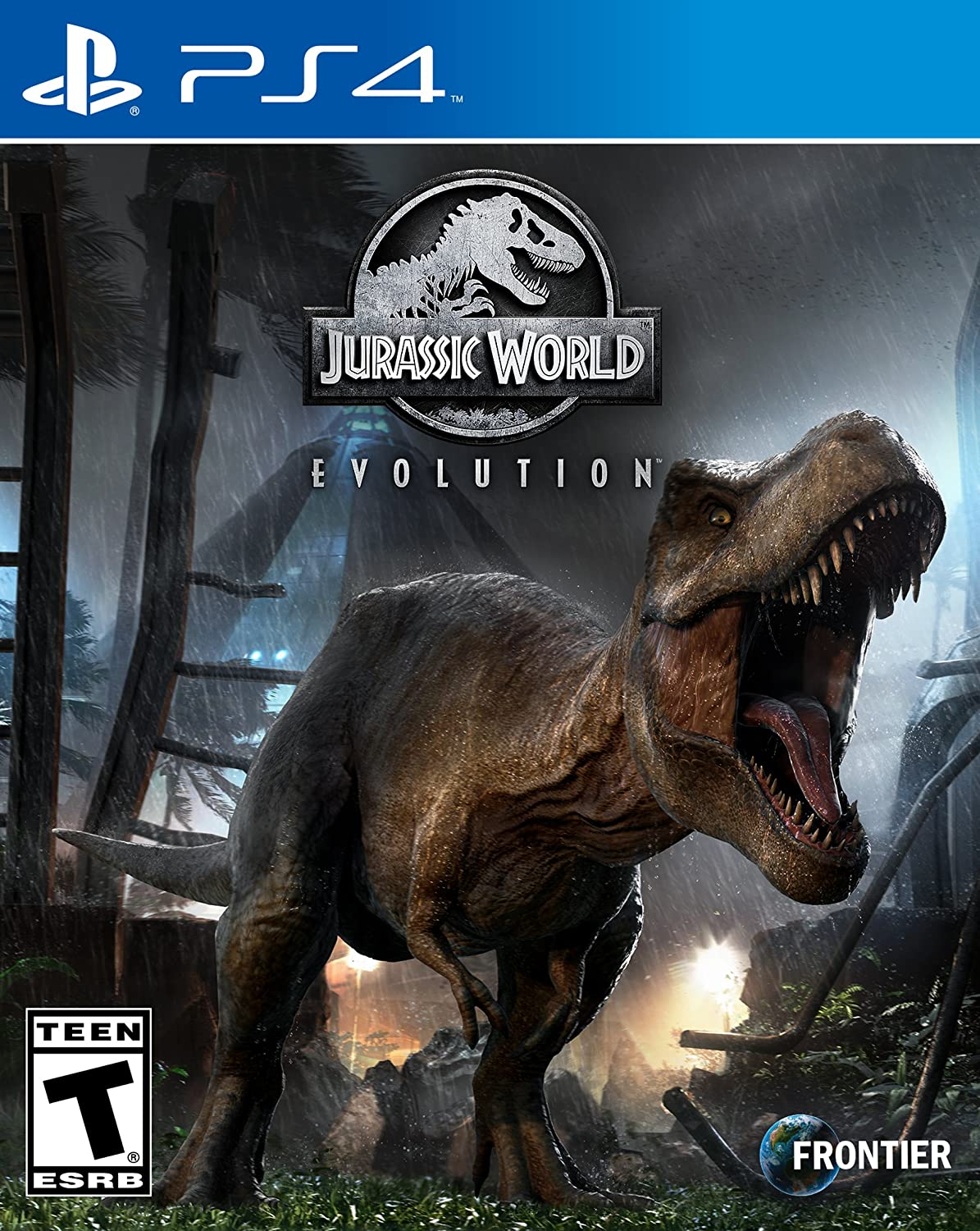 Amazon com: Jurassic World Evolution - PlayStation 4 Edition
