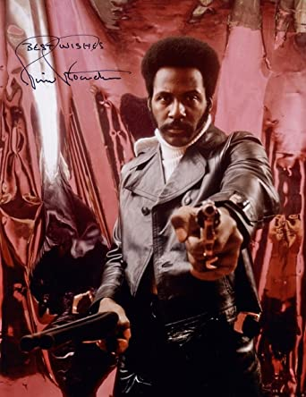 Entertainment Memorabilia Richard Roundtree Signed Autographed 8x10 Photo Shaft John Shaft Photographs