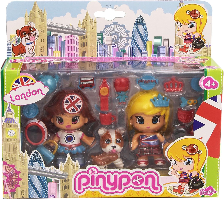 Amazon.es: Pinypon - Pack Viaja por el Mundo: Londres (Famosa ...