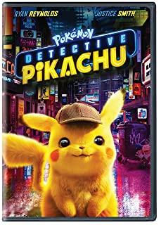 Book Cover: Pokemon Detective Pikachu