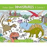 Poster géant Dinosaures à colorier !