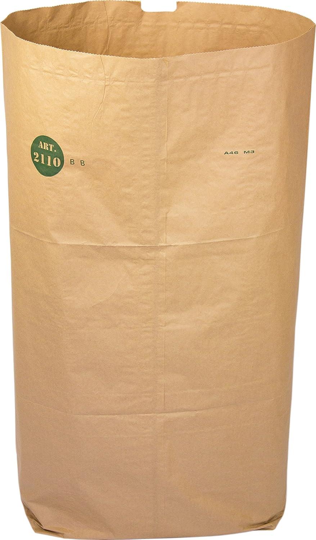 Alina 140L kompostierbar Papier abfalleimers Garten Kompost Sack Mülltonne Mülltonne Mülltonne Liner biologisch abbaubar braun 140 Liter Papier Sack kompostieranleitung, 20 Sacks B01KEHGBME Müllbeutel & -scke aab990