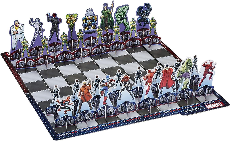 Hasbro Marvel de ajedrez: Amazon.es: Juguetes y juegos