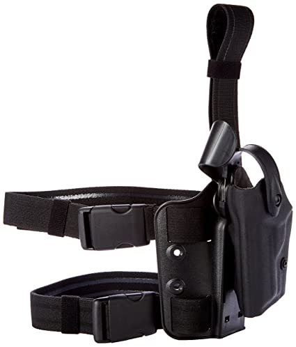 4dd6a93dd4d52a Safariland 6004 SLS Tactical Holster with Dbl Leg Straps H&K P30 Holster,  Black, Right