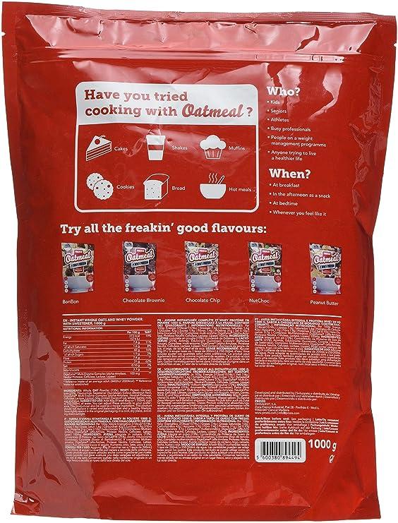 Prozis Oatmeal, Tarta de Queso con Fresas - 1000 gr: Amazon.es: Salud y cuidado personal