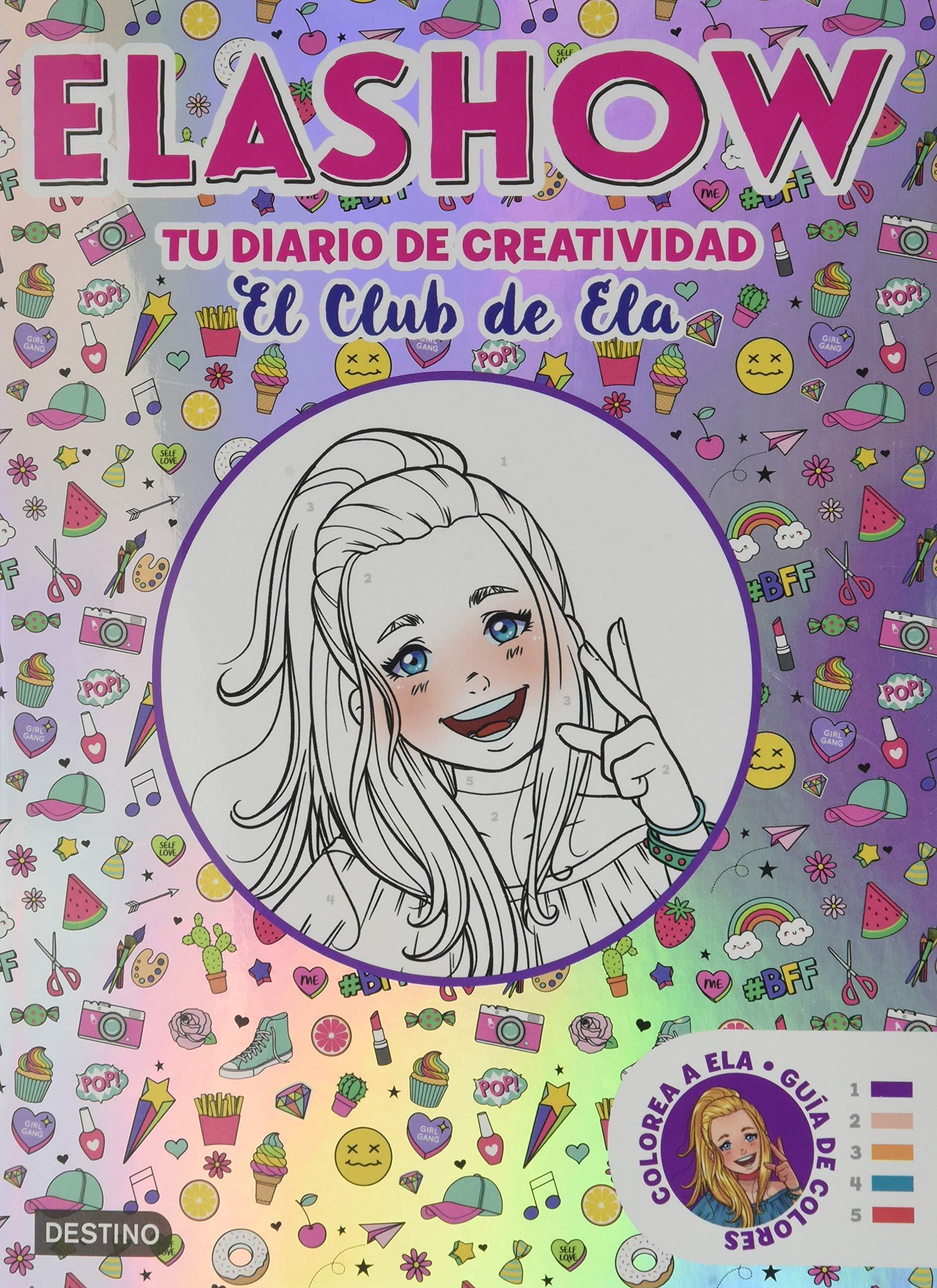 Pack CRF Elashow Diario (Youtubers infantiles): Amazon.es: Martínez, Elaia: Libros