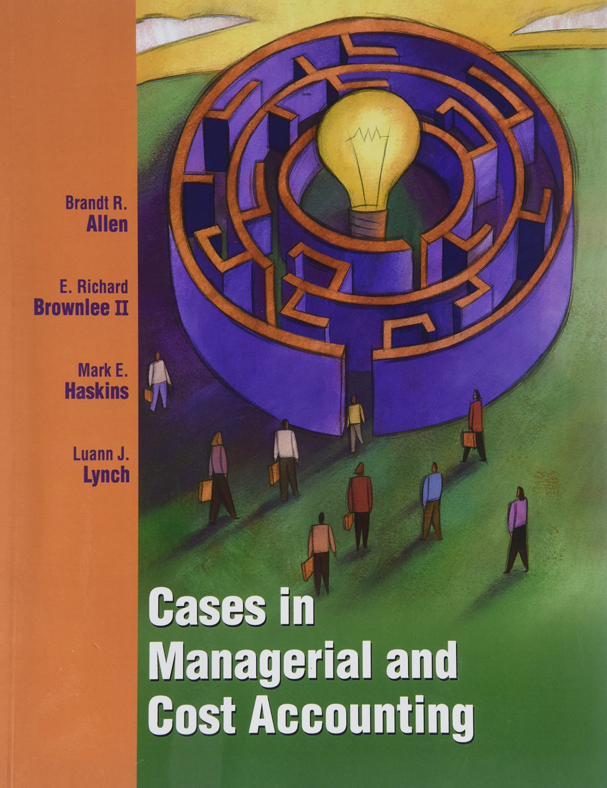 Title: CASES IN MANAGERIAL COST ACCOU PDF