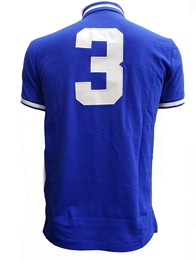 7d5fb34ebd07f7 Polo Ralph Lauren Herren Poloshirt City - blau - Mittel  Amazon.de   Bekleidung