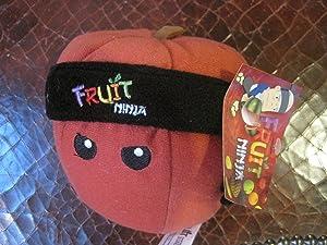 "5"" Apple Fruit Ninja Plush"