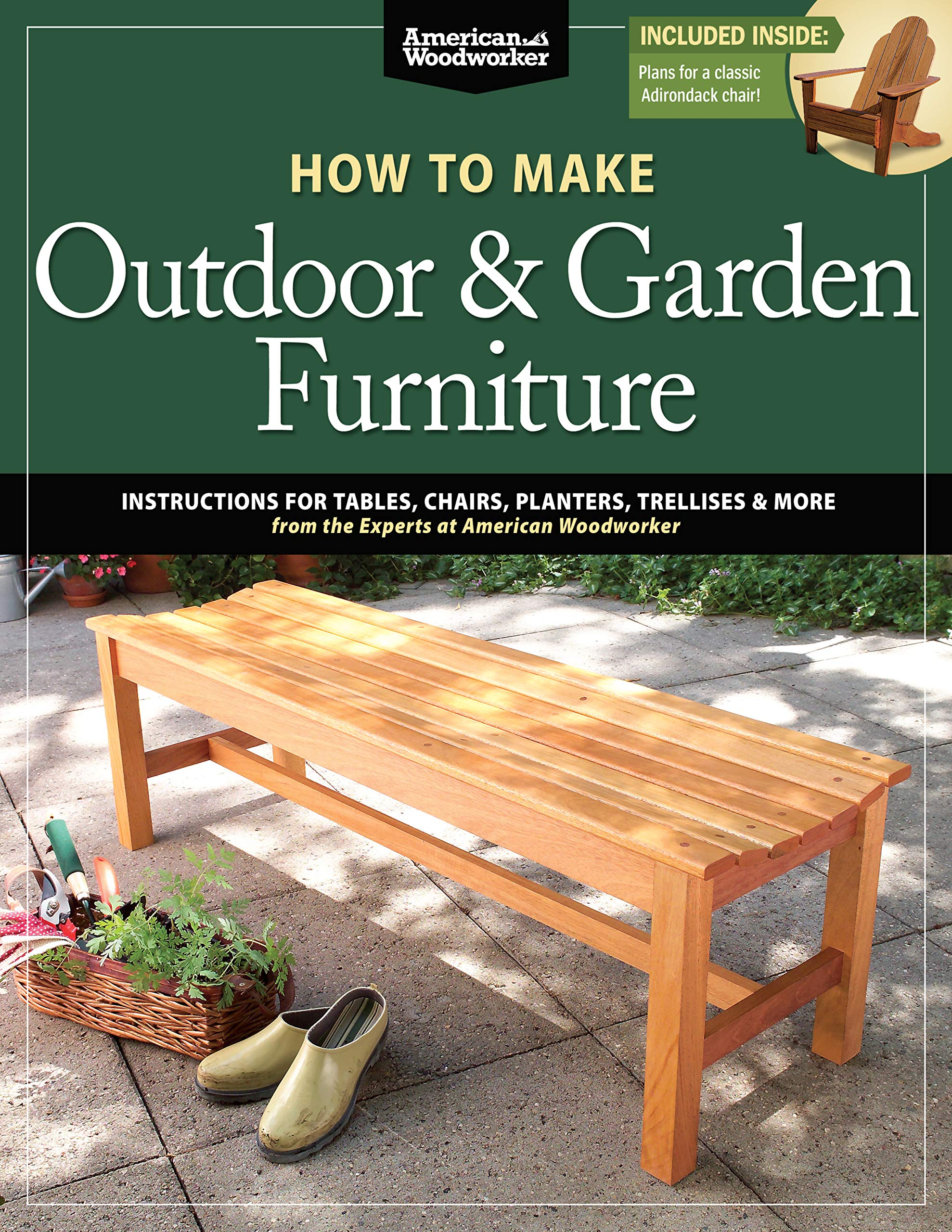 Miraculous How To Make Outdoor Garden Furniture American Woodworker Machost Co Dining Chair Design Ideas Machostcouk