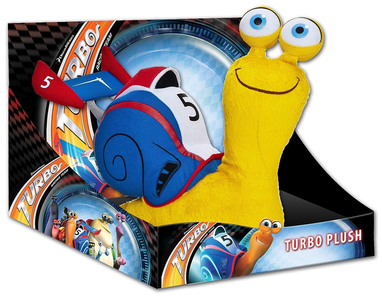 Joy Toy 339953 Turbo - Caracol de peluche en caja expositora (25 cm), color azul: Amazon.es: Juguetes y juegos
