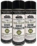 E.J. Wheaton Co. Odor Eliminator, Total Release Odor Fogger, 3 Pack, Effectively Deodorizes and Neutralizes Foul Odors…