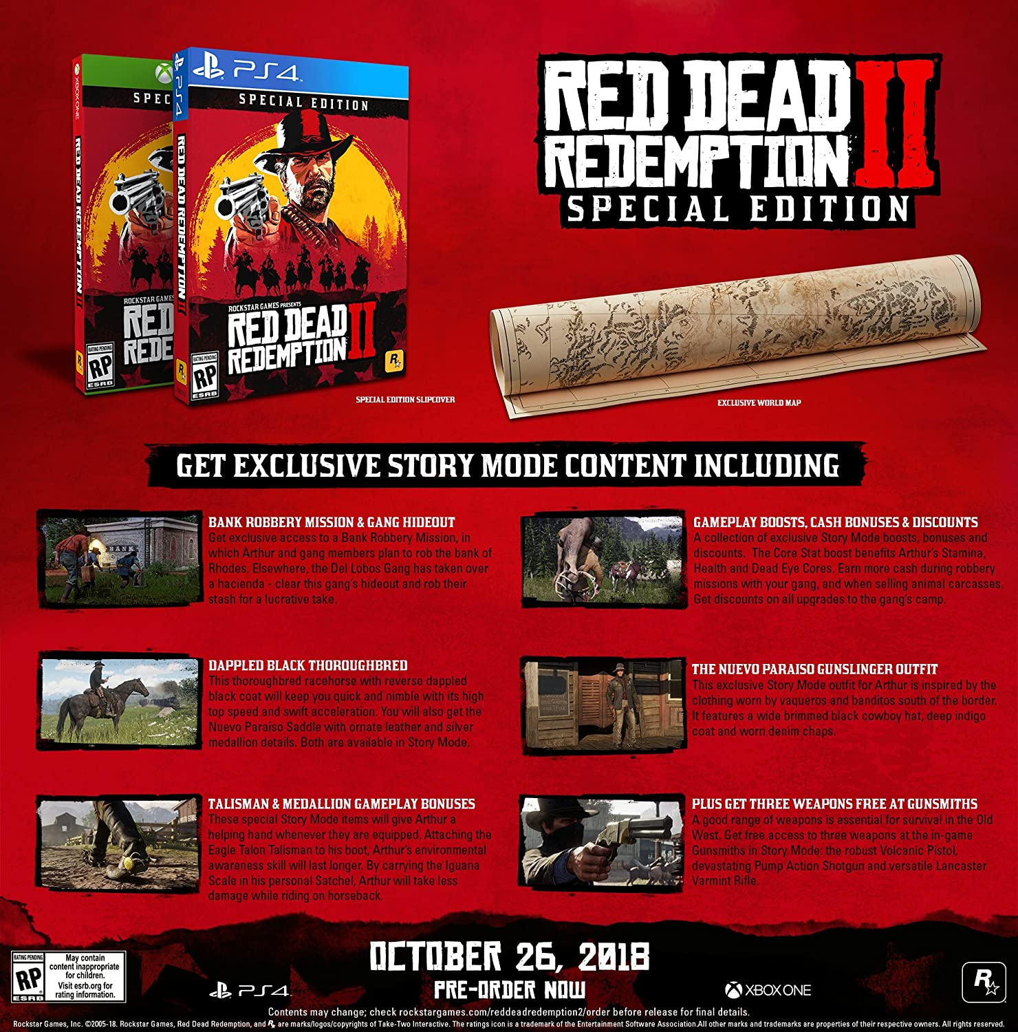 Amazon Com Red Dead Redemption 2 Ps4 Digital Code Video Games