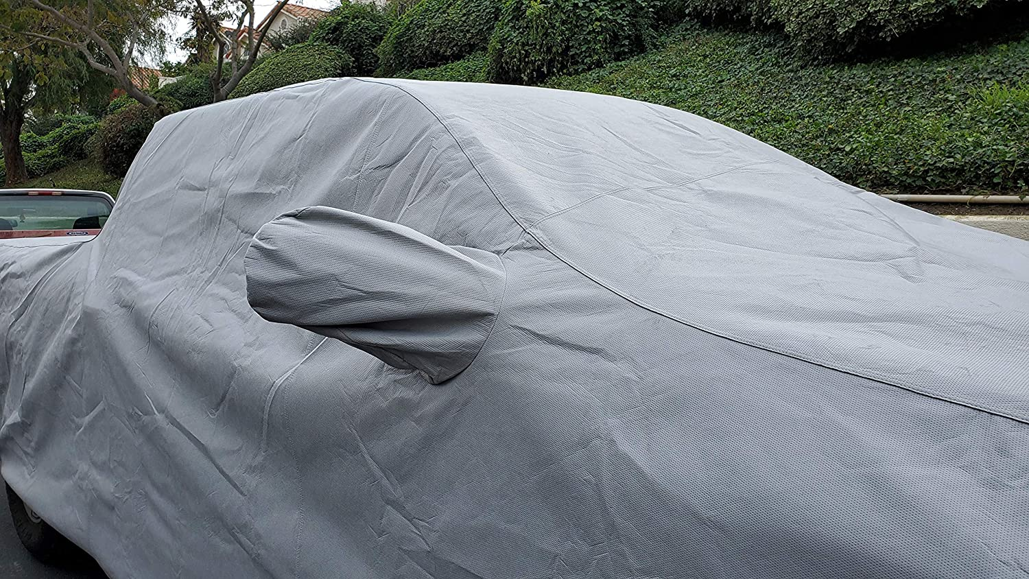 DMB Car Cover for 2014-2020 Chevy Silverado 1500 Crew Cab Short Bed 5 8 All Weather Heavy Duty