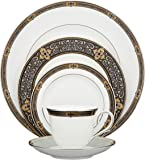 Lenox Vintage Jewel Platinum-Banded Bone China 5-Piece Place Setting