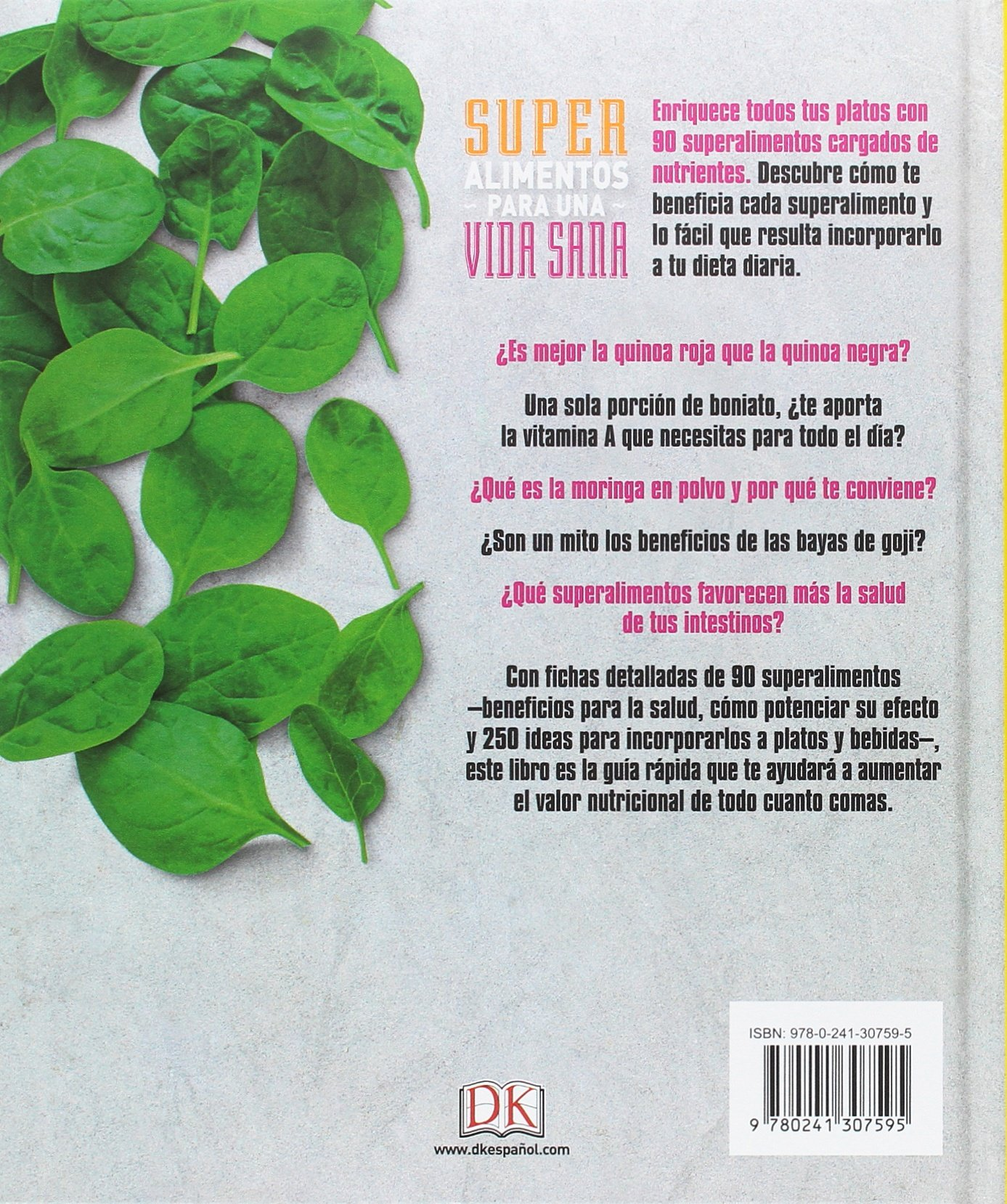 Superalimentos para una vida sana: Prólogo del Chef Gonzalo ...