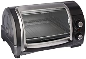 Hamilton Beach (31334) Toaster Oven, Pizza Maker, Electric, Gray