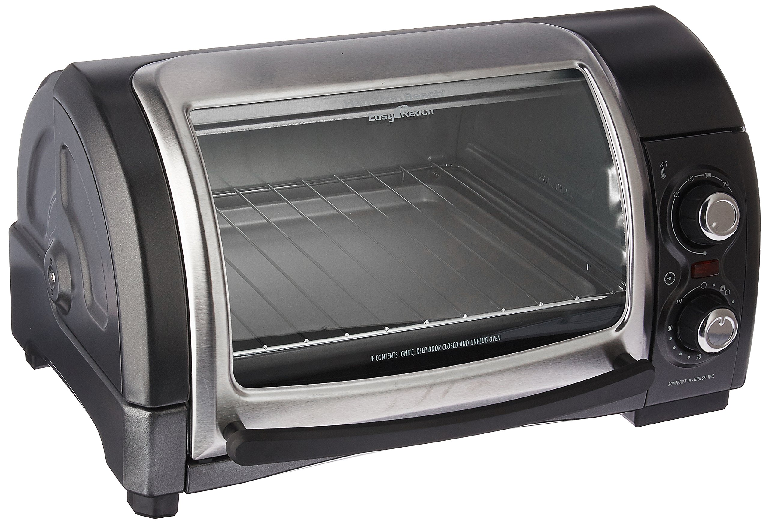 Hamilton Beach (31334) Toaster Oven, Pizza Maker, Electric, Black