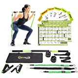 Gymwell Portable Resistance Workout Set, Total Body Workout Equipment for Home, Office or Outdoor with 3 Sets of…