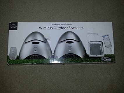 Amazoncom Sharper Image 900mhz Outdoor Wireless Speakers Home
