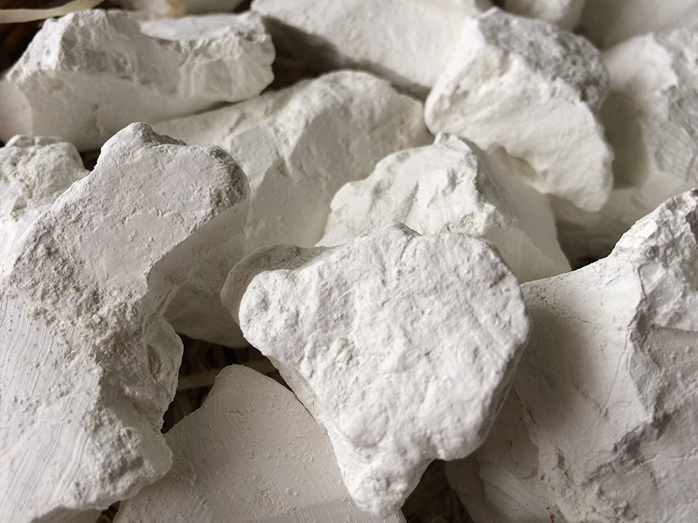 KAOLIN edible Clay chunks natural for eating (food), 4 oz (115 g) UCLAYS