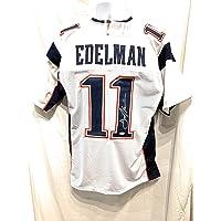 Julian Edelman New England Patriots Signed Autograph Custom White Jersey JSA… photo