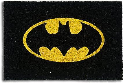 Zerbino batman excelsa , fibra di cocco, nero, 40x60x1.5 cm 62465