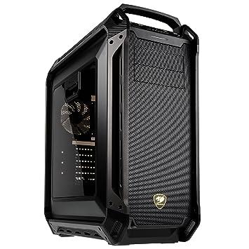 Cougar Gaming Panzer MAX Full-Tower Negro - Caja de Ordenador (Full-Tower, PC, Negro, ATX,CEB,EATX, Juego, 17 cm)