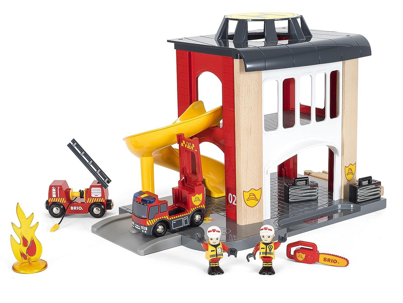Brio Große Feuerwehrstation