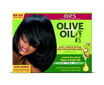 56adb1ffe ORS Olive Oil Extra Strength Hair Relaxer  Amazon.co.uk  Beauty